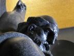 Mauzoleum Niegosza - Park Narodowy Lovćen - posąg Piotra II Petrowicia-Niegosza