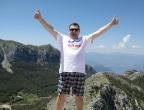 Mauzoleum Niegosza - Park Narodowy Lovćen - punkt widokowy - stąd widać całą Czarnogórę