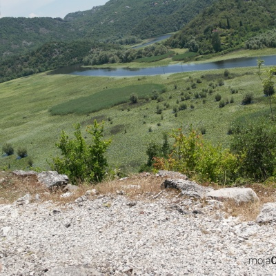 Rijeka Crnojevića - rozlewiska rzeki