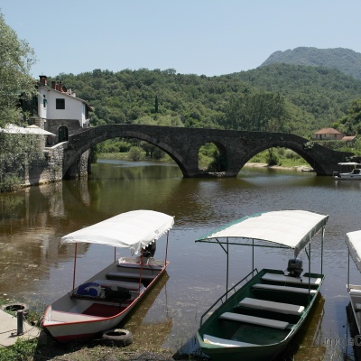 miejscowość Rijeka Crnojevića - stary most