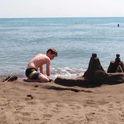 Ulcinj - Velika Plaža - szeroka, piaszczysta plaża