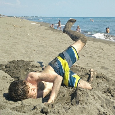 Ulcinj - Velika Plaža - szeroka, piaszczysta plaża w Czarnogórze